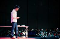 Ushiba's presentation in TEDxTokyo